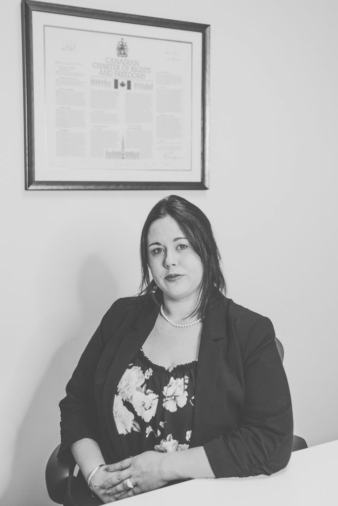 Angelica Zinke, Lawyer in Cobourg